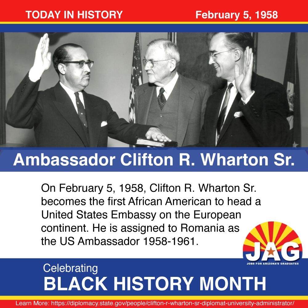 Ambassador Clifton R. Wharton Sr.