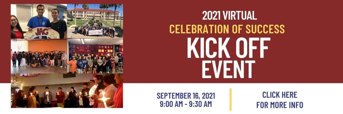 Celebration of Success Kick Off Registration